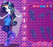 Hra - My Little Pony Rainbow Rocks Rarity Dress Up