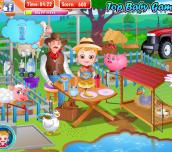 Hra - Baby Hazel Farm Tour
