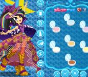 Hra - My Little Pony Rainbow Rocks Trixie Lulamoon Dress Up