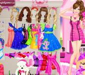 Hra - BarbieSleepwearPrincessDressUp