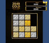 Hra - 2048GoldEdition