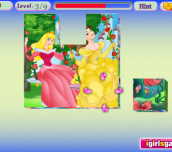 Hra - 3DPrincessJigsawPuzzle