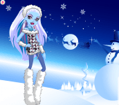 Hra - Monster High Abbey Bominable Dress Up