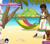 Hra - JamaicaDressUp