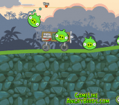 Hra - Angry Birds Crazy Racing