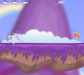 Hra - Robot Unicorn Attack Evolution