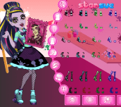 Hra - MonsterHighArtClassDraculauraDressUp