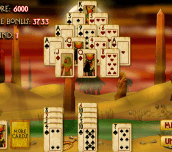 Hra - Pyramid Solitaire Mummy's Curse
