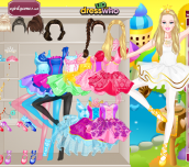 Hra - BarbieBallerinaDressUp