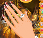 Hra - ThanksgivingNailDesigns