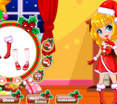 Hra - ChristmasDressUpandMakeUp