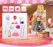 Hra - Barbie`sValentine`sPatchworkDress