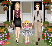 Hra - FamilyDressUp