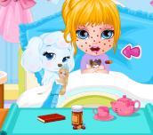 Hra - BabyBarbieChickenpoxAttack