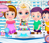 Hra - BabyBarbieFrozenParty