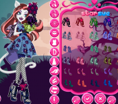 Hra - MonsterHighGloomn'BloomCatrineDeMew