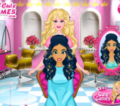 Hra - Barbie'sPrincessHairSalon
