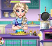 Hra - Elsa Real Cooking