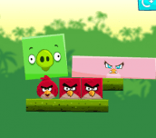 Hra - AngryBirdsKickPiggies