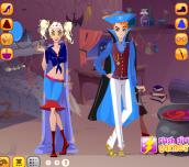 Hra - HalloweenCoupleDressup