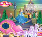 Hra - Cinderella Dress Up Fairy Tale