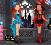 Hra - Zoe & Lily: Halloween Party