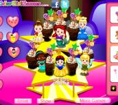 Hra - DisneyPrincessCupcakes