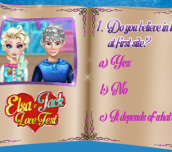 Hra - Elsa&JackLoveTest