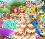 Hra - Rapunzel Wedding Party