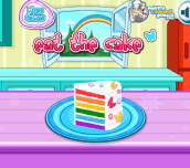 Hra - CookingRainbowBirthdayCake