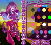 Hra - MonsterHighFlaraBlazeDressUp