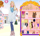 Hra - Barbie'sWinterGlitterTrends