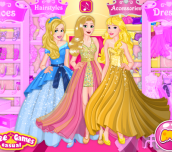 Hra - Blonde Princess Prom Shopping