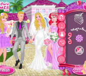 Hra - Princess at Barbie's Wedding