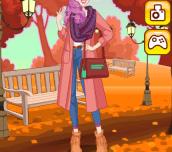 Hra - AutumnGirlDressUp