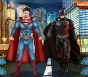Hra - SupermanVsBatmanDressup