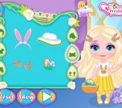 Hra - Baby Elsa Easter Egg Hunt