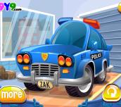 Hra - PoliceCarWash
