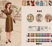 Hra - Azaela's 1940s Fashion