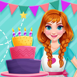 Hra - Princess Kitchen Stories: Birthday Cake