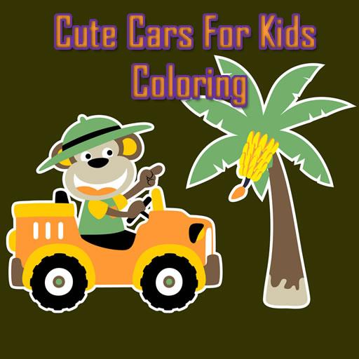 Hra - Cute Cars for Kids Coloring