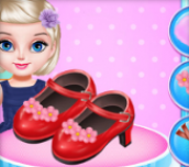 Hra - Little Princess Shoes Design