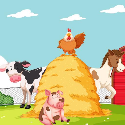 Hra - Farm Puzzle