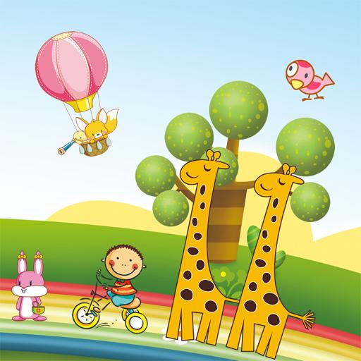 Hra - CartoonGiraffePuzzle