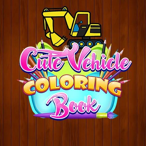 Hra - Cute Vehicle Coloring Book