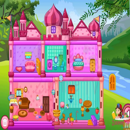 Hra - Princess Baby Doll House Clean up