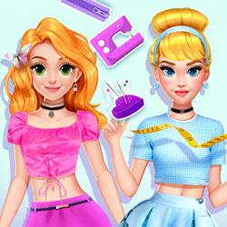 Blonde Princess #DIY Royal Dress
