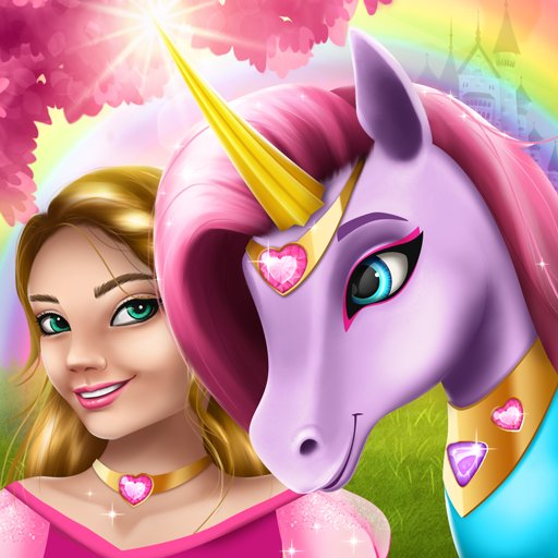 Hra - Unicorn Fashion dress up girls