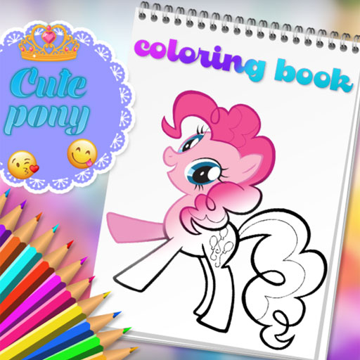 Hra - Cute Pony Coloring Book