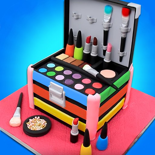 Hra - Make Up Cosmetic Box Cake Maker -Best Cooking Game